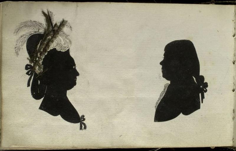 """silhouette - L'art du  """" Portrait en Silhouette """" ou """" à la silhouette """" Am_24810"""