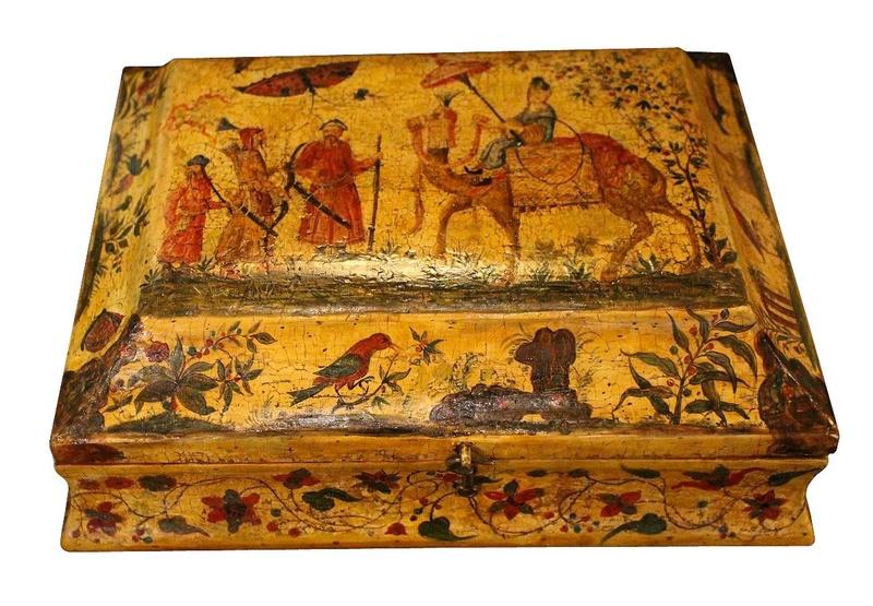 Perruques et  boîtes à perruques au XVIIIe siècle Antics13