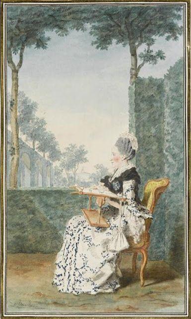 La broderie au XVIIIe siècle C9eb3d10
