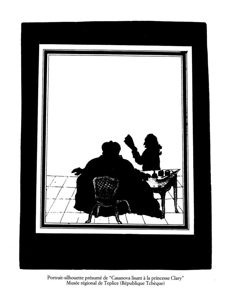 """silhouette - L'art du  """" Portrait en Silhouette """" ou """" à la silhouette """" Casano10"""
