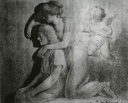 """silhouette - L'art du  """" Portrait en Silhouette """" ou """" à la silhouette """" Chodow10"""