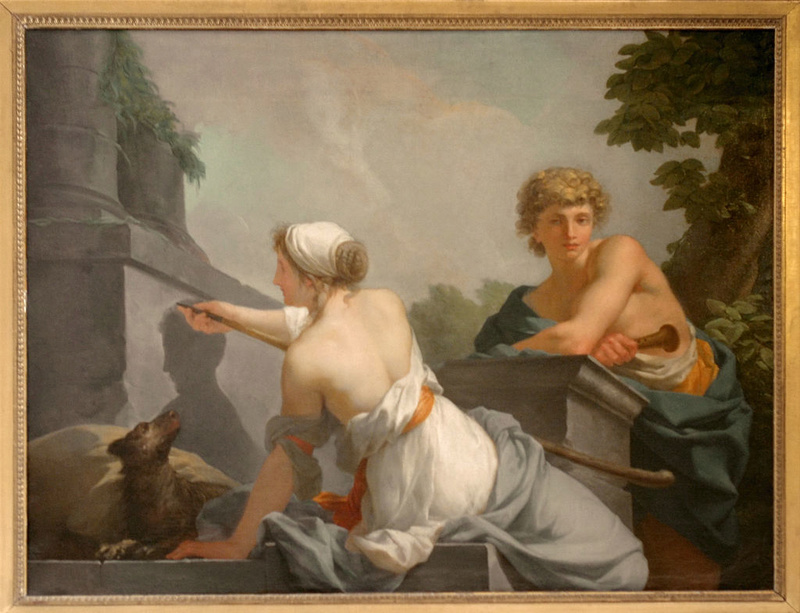 """silhouette - L'art du  """" Portrait en Silhouette """" ou """" à la silhouette """" Chytea15"""