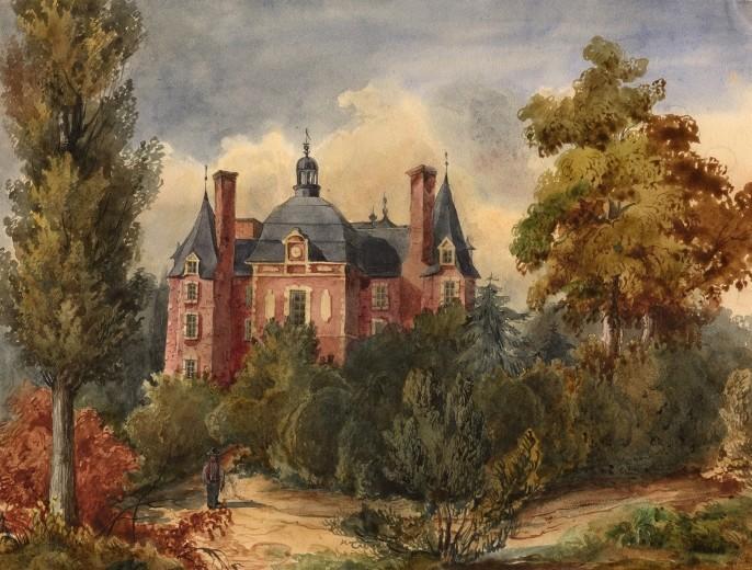 La marquise de la Ferté-Imbault Le-cha10
