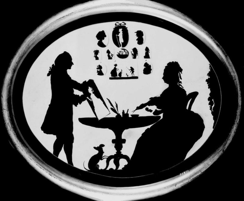 """silhouette - L'art du  """" Portrait en Silhouette """" ou """" à la silhouette """" Mister10"""