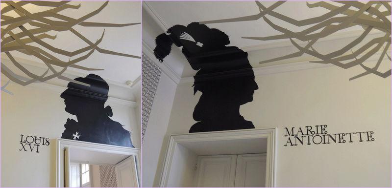 """silhouette - L'art du  """" Portrait en Silhouette """" ou """" à la silhouette """" Parigi10"""