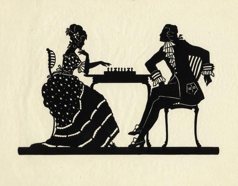 """silhouette - L'art du  """" Portrait en Silhouette """" ou """" à la silhouette """" Rev26910"""