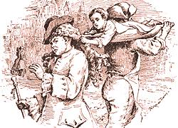 Perruques et  boîtes à perruques au XVIIIe siècle Steal_10