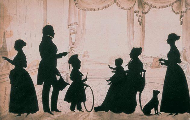 """silhouette - L'art du  """" Portrait en Silhouette """" ou """" à la silhouette """" The-hi10"""