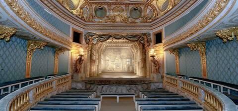 Le Devin du Village, de Jean-Jacques Rousseau, Théâtre de la reine au Petit  Trianon