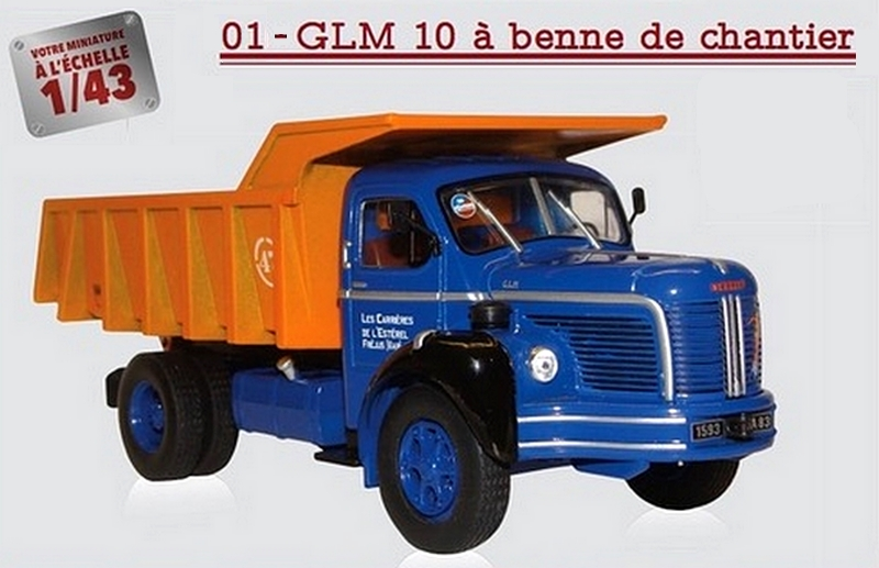 "La collection ""miniatures BERLIET"" d'Hachette au 1/43 0000016"