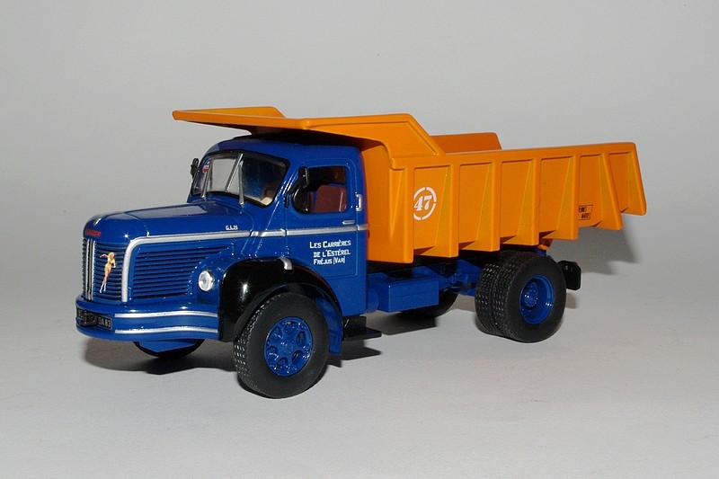 "La collection ""miniatures BERLIET"" d'Hachette au 1/43 000014"