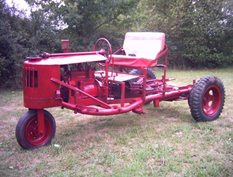 tracteurs agricoles artisanaux sur base CITROËN 000030