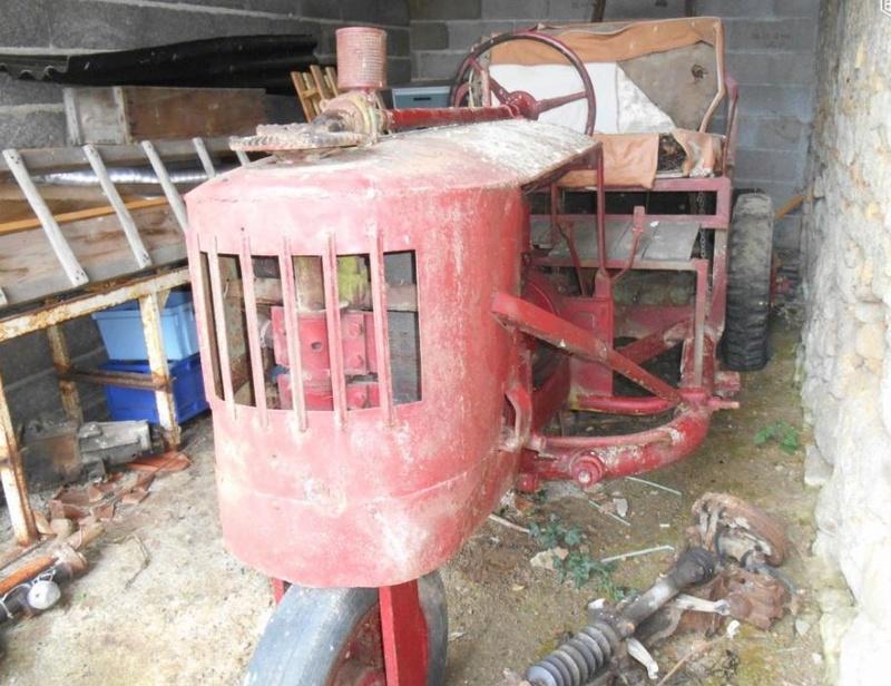 tracteurs agricoles artisanaux sur base CITROËN 00065