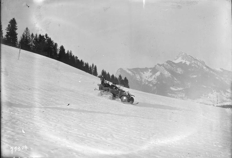 Concours de voitures à neige au Col du Sappey le 9 Février 1922 0018