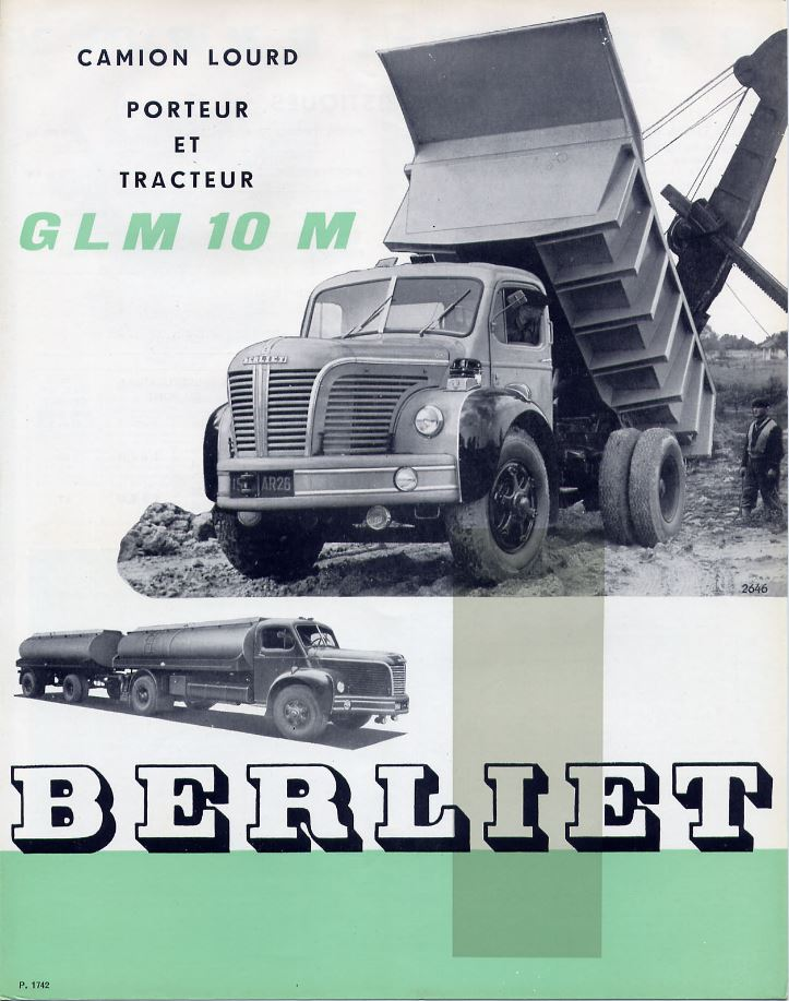 "La collection ""miniatures BERLIET"" d'Hachette au 1/43 0029"