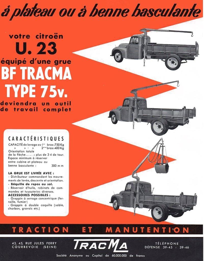 TRACMA : une grue sur votre U23 0100