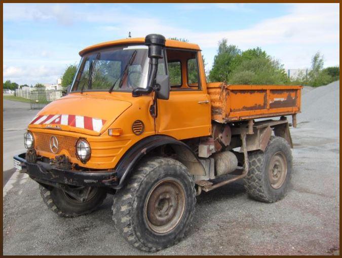 UNIMOG 406 BT à vendre aux enchères (Conseil Général de la Somme) 0483