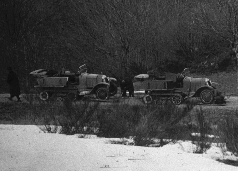 Concours de voiture à chenilles dans les Pyrénées Orientales en 1922 114
