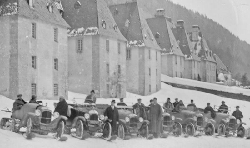 Concours de voitures à neige au Col du Sappey le 9 Février 1922 124