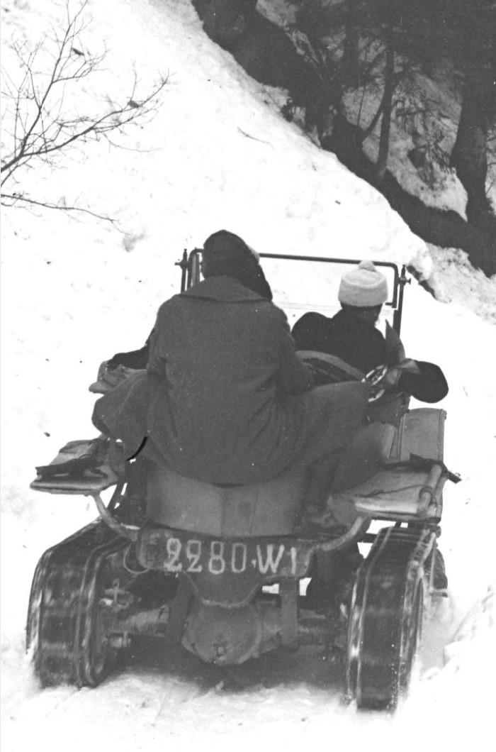 Concours de voitures à neige au Col du Sappey le 9 Février 1922 126