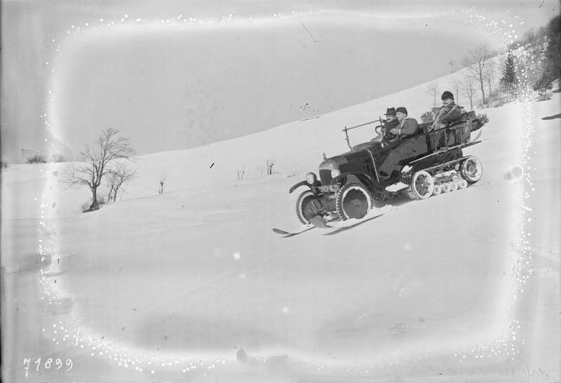 Concours de voitures à neige au Col du Sappey le 9 Février 1922 1512