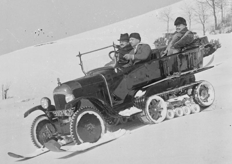 Concours de voitures à neige au Col du Sappey le 9 Février 1922 1612