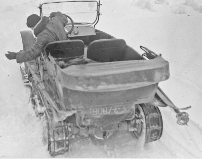 Concours de voitures à neige au Col du Sappey le 9 Février 1922 1811