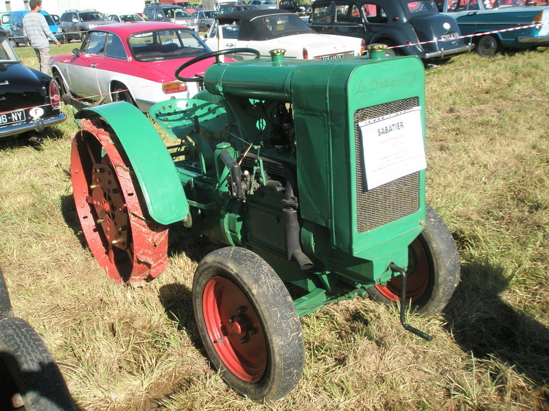 tracteur le pratique sabatier 1912