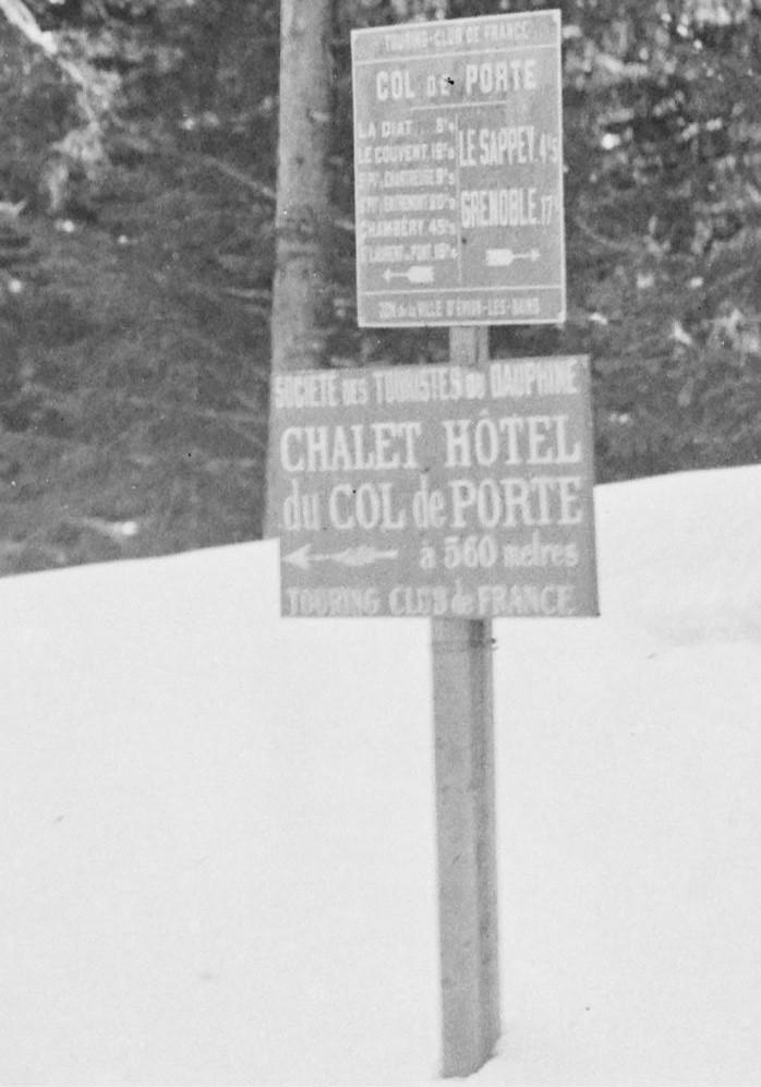 Concours de voitures à neige au Col du Sappey le 9 Février 1922 2012