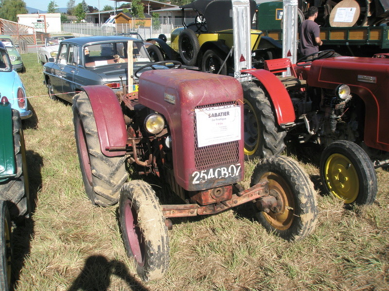 tracteur le pratique sabatier 2013