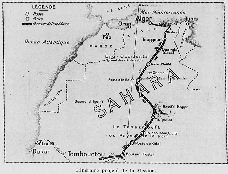 La 1ère Traversée du Sahara 2111