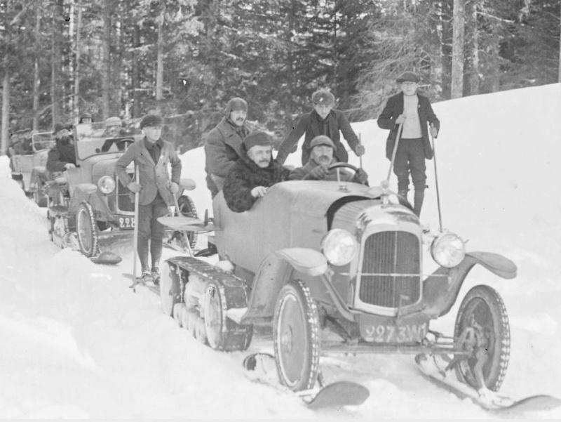 Concours de voitures à neige au Col du Sappey le 9 Février 1922 2112