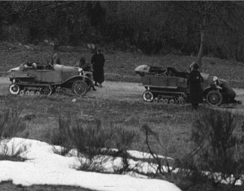 Concours de voiture à chenilles dans les Pyrénées Orientales en 1922 218