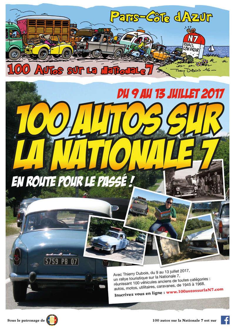 100 autos sur la Nationale 7 du 9 au 13 Juillet 2017 2291