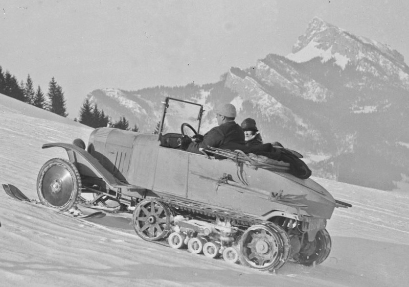 Concours de voitures à neige au Col du Sappey le 9 Février 1922 2312