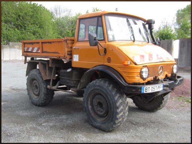 UNIMOG 406 BT à vendre aux enchères (Conseil Général de la Somme) 2315