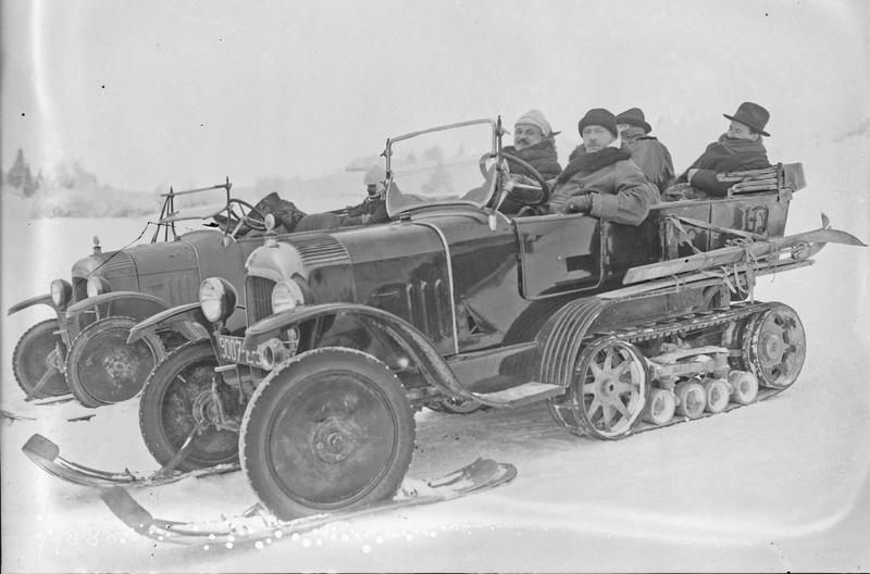 Concours de voitures à neige au Col du Sappey le 9 Février 1922 2612
