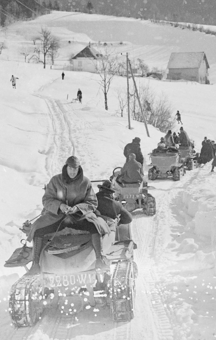 Concours de voitures à neige au Col du Sappey le 9 Février 1922 3012