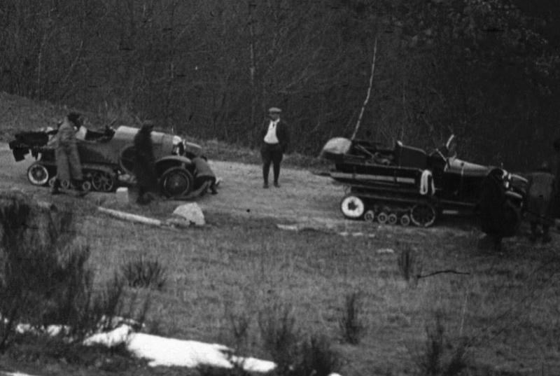 Concours de voiture à chenilles dans les Pyrénées Orientales en 1922 313