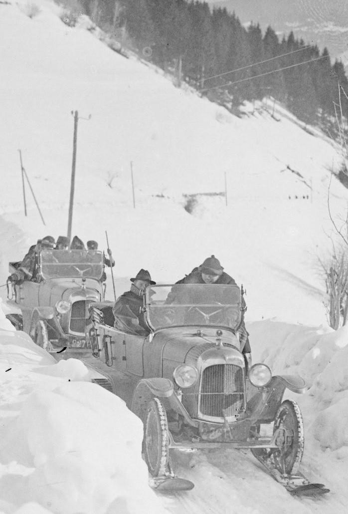 Concours de voitures à neige au Col du Sappey le 9 Février 1922 320