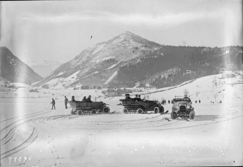 Concours de voitures à neige au Col du Sappey le 9 Février 1922 3511