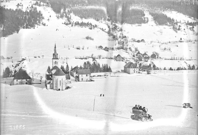 Concours de voitures à neige au Col du Sappey le 9 Février 1922 3911