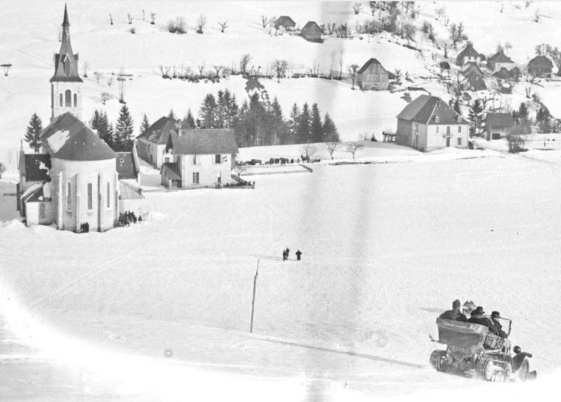 Concours de voitures à neige au Col du Sappey le 9 Février 1922 4011