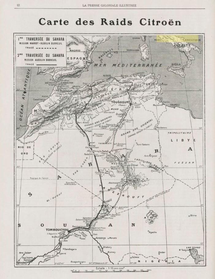 La 2ème traversée du SAHARA 412