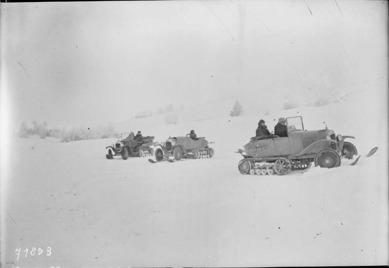 Concours de voitures à neige au Col du Sappey le 9 Février 1922 416