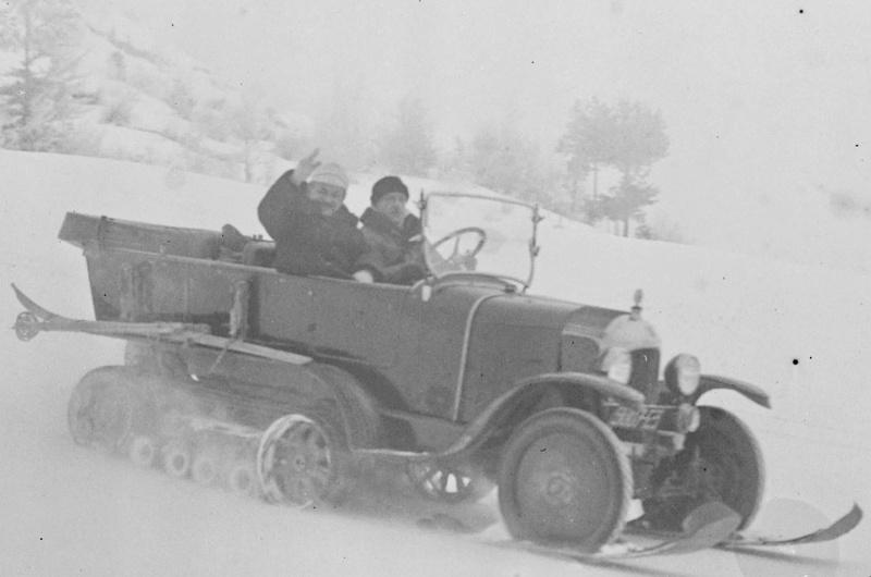 Concours de voitures à neige au Col du Sappey le 9 Février 1922 4511