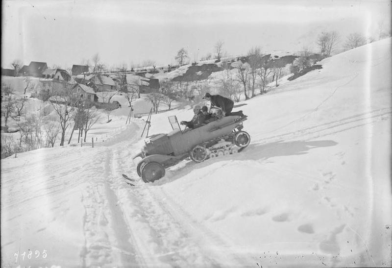 Concours de voitures à neige au Col du Sappey le 9 Février 1922 4611