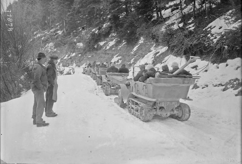 Concours de voitures à neige au Col du Sappey le 9 Février 1922 4811