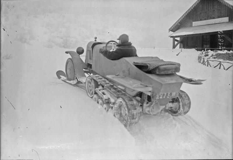Concours de voitures à neige au Col du Sappey le 9 Février 1922 5011