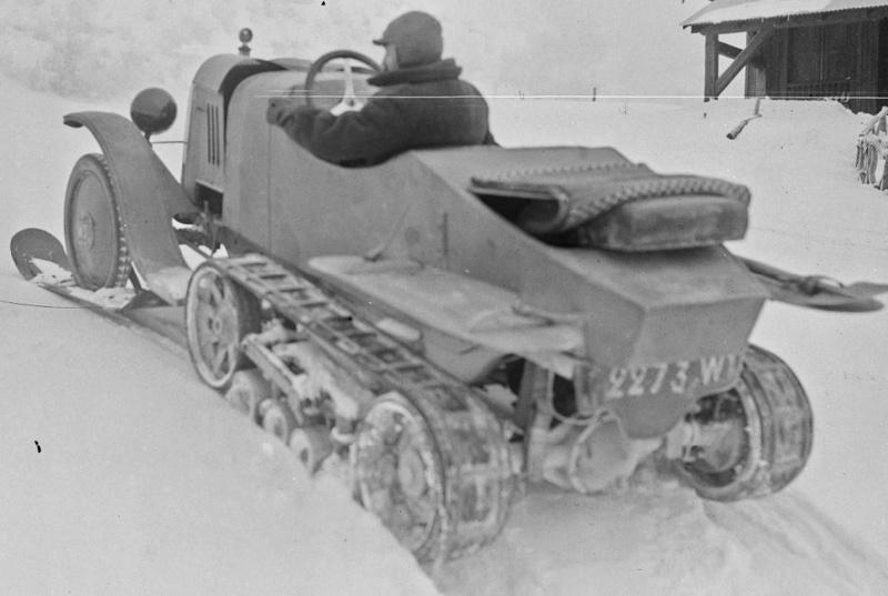 Concours de voitures à neige au Col du Sappey le 9 Février 1922 5111